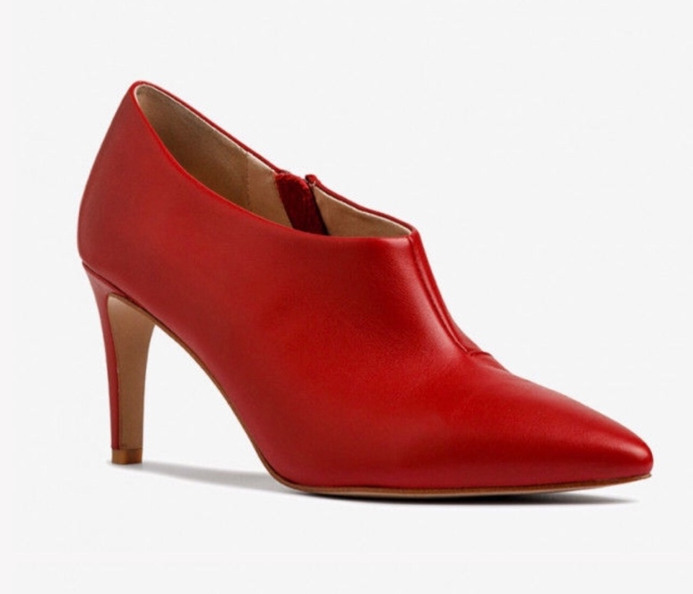 Ricci Red Ankle Boot from Mi Piaci