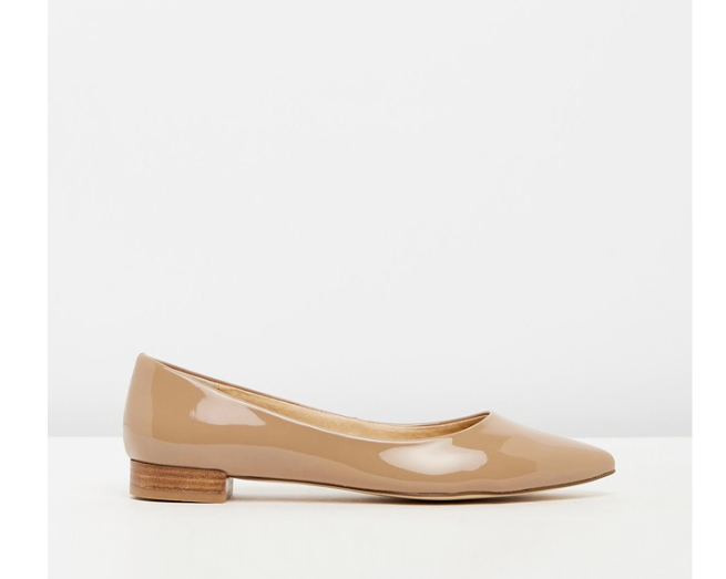 A&H - Cassia Leather Flats